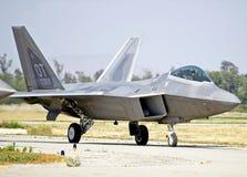 Aereo da caccia tattico del rapace di Lockheed Martin F-22 fotografie stock libere da diritti