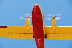 Aereo del pompiere Fotografia Stock Libera da Diritti