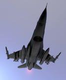 Aereo dell'aereo da caccia Immagine Stock Libera da Diritti