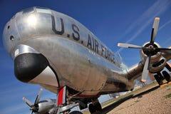 Aereo dell'aeronautica Fotografia Stock