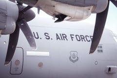 Aereo dell'aeronautica di Stati Uniti Immagine Stock Libera da Diritti