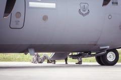Aereo dell'aeronautica di Stati Uniti Fotografia Stock