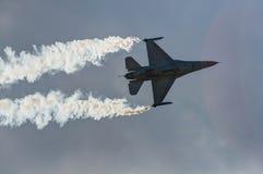 Aereo dello show aereo Fotografia Stock