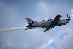 aereo di addestramento Fotografia Stock