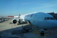 Aereo di Air Canada Immagine Stock