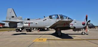 Aereo di attacco eccellente di A-29 Tucano Immagini Stock