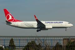 Aereo di Boeing 737 Fotografia Stock Libera da Diritti