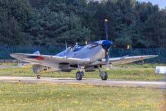 Aereo di combattimento delle spitfire Immagine Stock Libera da Diritti