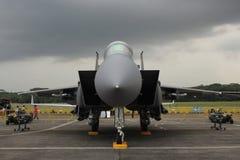 Aereo di combattimento di F-15SG Fotografie Stock