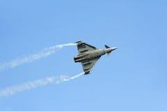 Aereo di combattimento di tifone di Eurofighter Immagini Stock