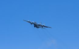 Aereo di Ercole C-130H dell'aeronautica di RNZAF Nuova Zelanda Fotografia Stock
