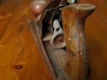 Aereo di legno Fotografie Stock