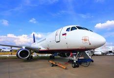 Aereo di linea al airshow Immagini Stock