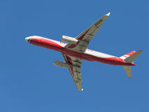 Aereo di linea Tu-204 Fotografia Stock Libera da Diritti