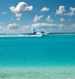 Aereo di mare. tassì di aria. Fotografia Stock