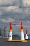 Aereo di sport sul circuito della corsa Kazan, Russia Fotografia Stock Libera da Diritti