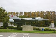 Aereo militare svizzero Fotografie Stock Libere da Diritti