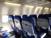Aereo passeggeri interno immagini stock
