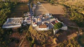 aereo Videografia dai fuchi, villaggi Cacela Velha Tavira video d archivio