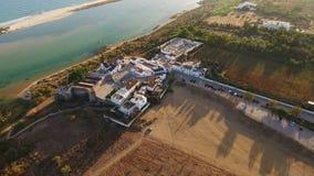 aereo Videografia dai fuchi, villaggi Cacela Velha Tavira archivi video