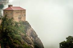 Aeri de Montserrat Imagen de archivo libre de regalías