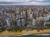 Aeria view of the city of Fortaleza, Ceará, Brazil. Aeria view of the city of Fortaleza, Ceará, Brazil South America stock image