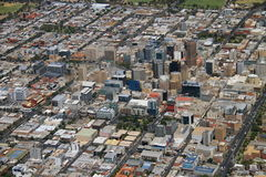 Aerial adelaide city Stock Images