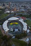 Aerial adelaide oval Royalty Free Stock Photos