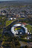 Aerial adelaide oval Stock Photo