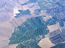 Aerial Agriculture Landscape Series 1 Royalty Free Stock Images