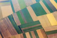 Aerial agriculture Stock Photography