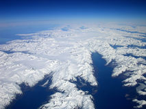 Aerial Alaska Royalty Free Stock Photo