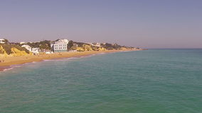 Aerial from Albufeira in the Algarve Portugal stock video