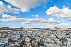 Aerial of  Arrecife, lanzarote Stock Photo