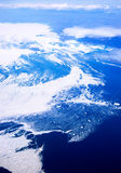 Aerial of Baffin Islands Royalty Free Stock Image