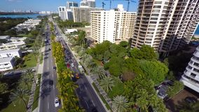 Aerial Bal Harbour 4k stock video footage