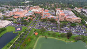 Aerial Baptist Hospital Miami Stock Photography