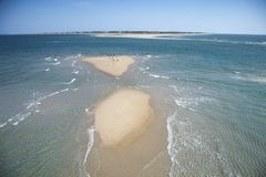 Aerial of beach. Stock Photos