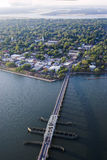 Aerial beaufort, sc Royalty Free Stock Images