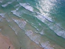 Aerial beautiful beach Royalty Free Stock Photos