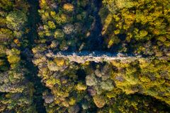 Free Aerial Beautiful View Of The Kursunlugerme Aqueduct Bridge Near Gumuspinar Village, Catalca, Istanbul Stock Photos - 179221403