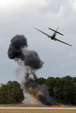Aerial bombardment Royalty Free Stock Photos