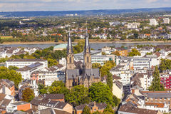 Aerial of Bonn, the former capital Royalty Free Stock Image