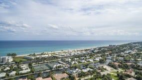 Aerial Boynton Beach, Florida Stock Photography