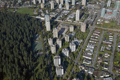 Aerial Burnaby, BC, Canada Stock Photography