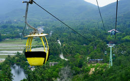 Aerial cable car Stock Photography