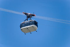 Aerial cable car Royalty Free Stock Photos