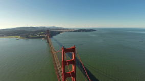 Aerial California San Francisco stock video footage
