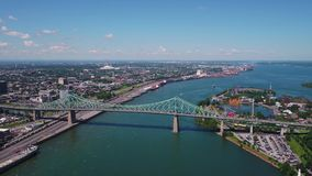 Aerial Canada Montreal July 2017 Sunny Day 4K Inspire 2