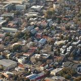 Aerial charleston south carolina Royalty Free Stock Images
